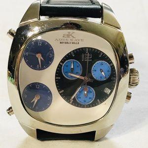 Oversized Adee Kaye Chronograph Watch